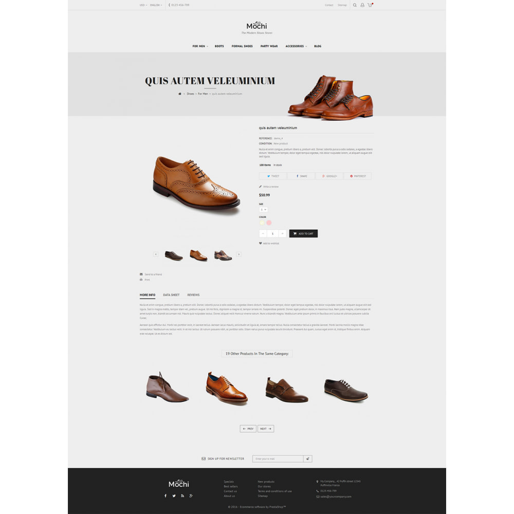theme - Fashion & Shoes - Mochi Shoes Store - 6