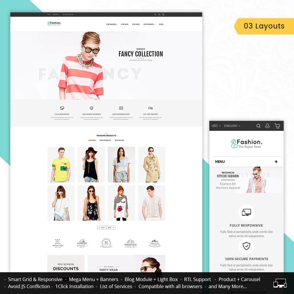 theme - Moda & Calçados - Fashion Store - 1