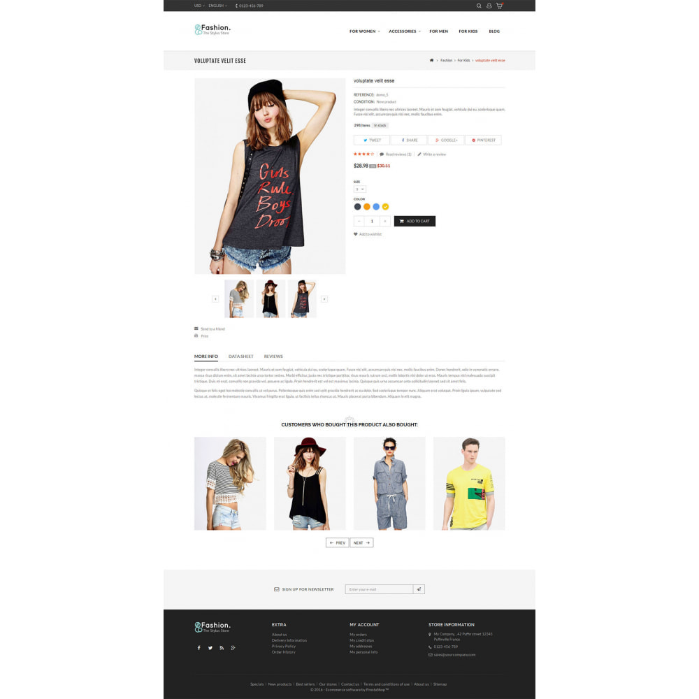 theme - Moda & Calçados - Fashion Store - 6