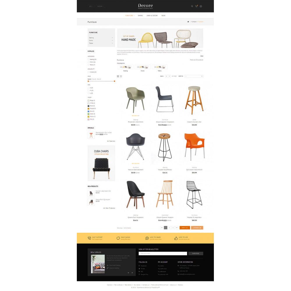 theme - Dom & Ogród - Decore - Modest Furniture Store - 3
