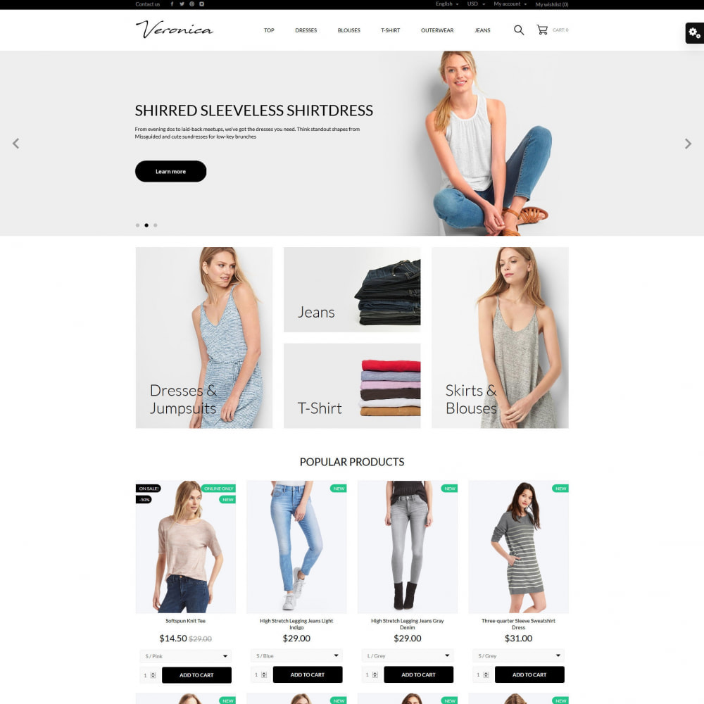 theme - Mode & Chaussures - Veronica Fashion Store - 12