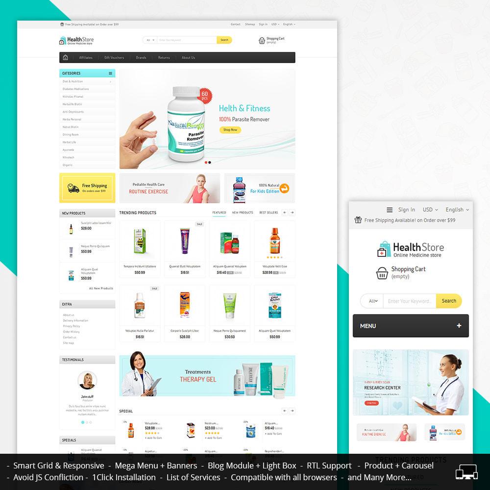 theme - Gezondheid & Schoonheid - Medicine Store - 1