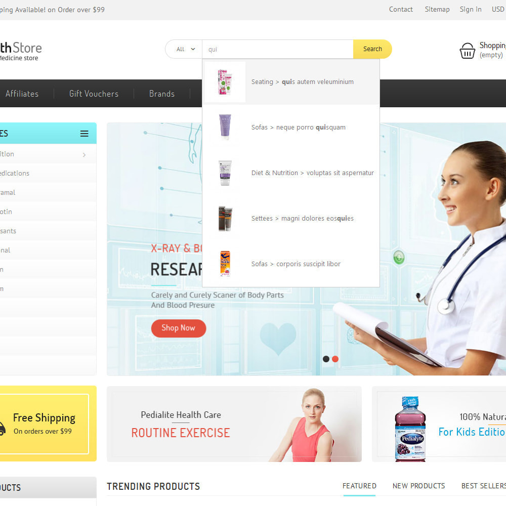 theme - Gezondheid & Schoonheid - Medicine Store - 8