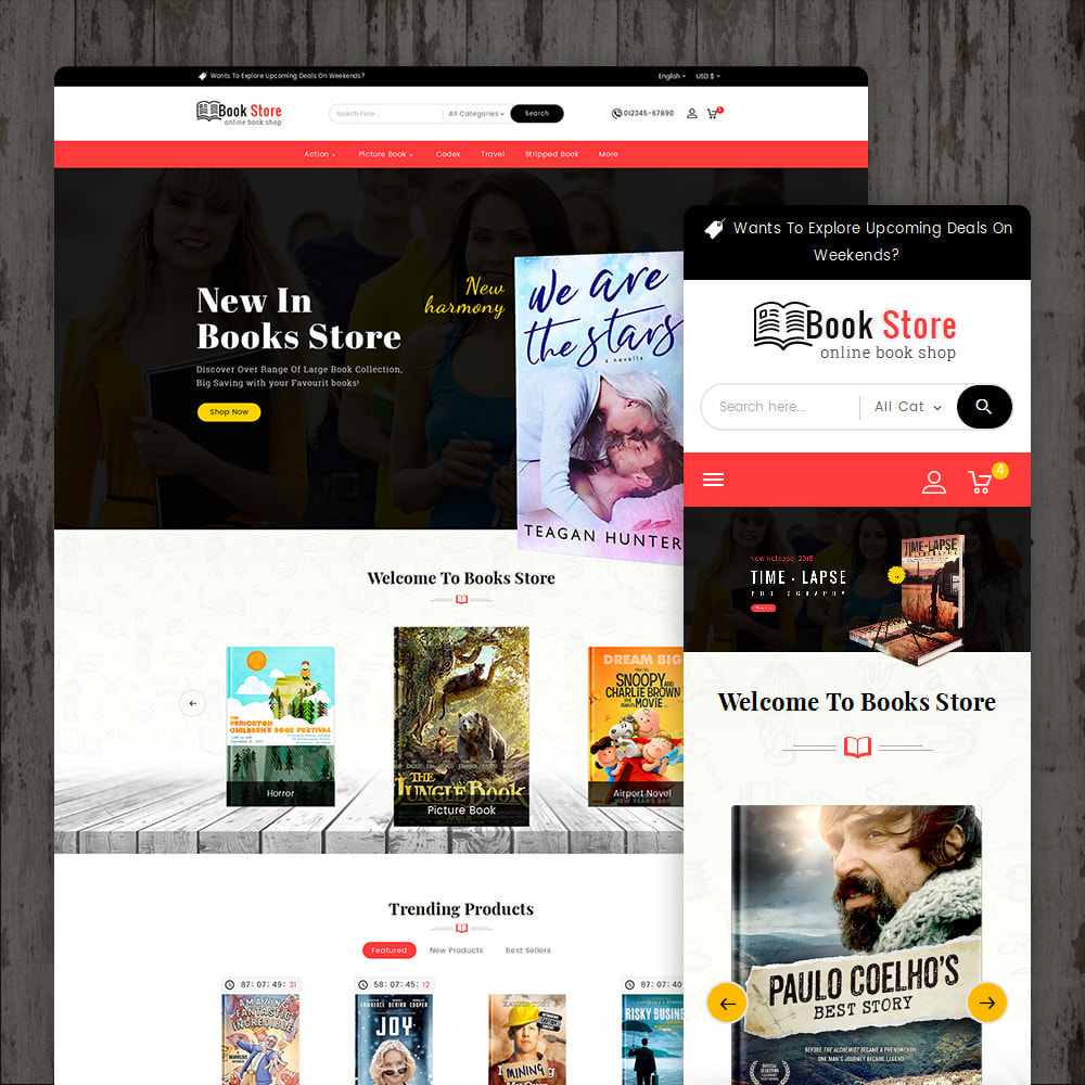 theme - Presentes, Flores & Comemorações - Book Store - 1
