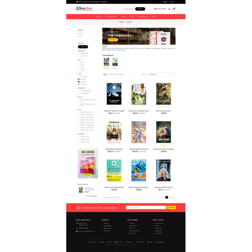 theme - Presentes, Flores & Comemorações - Book Store - 3