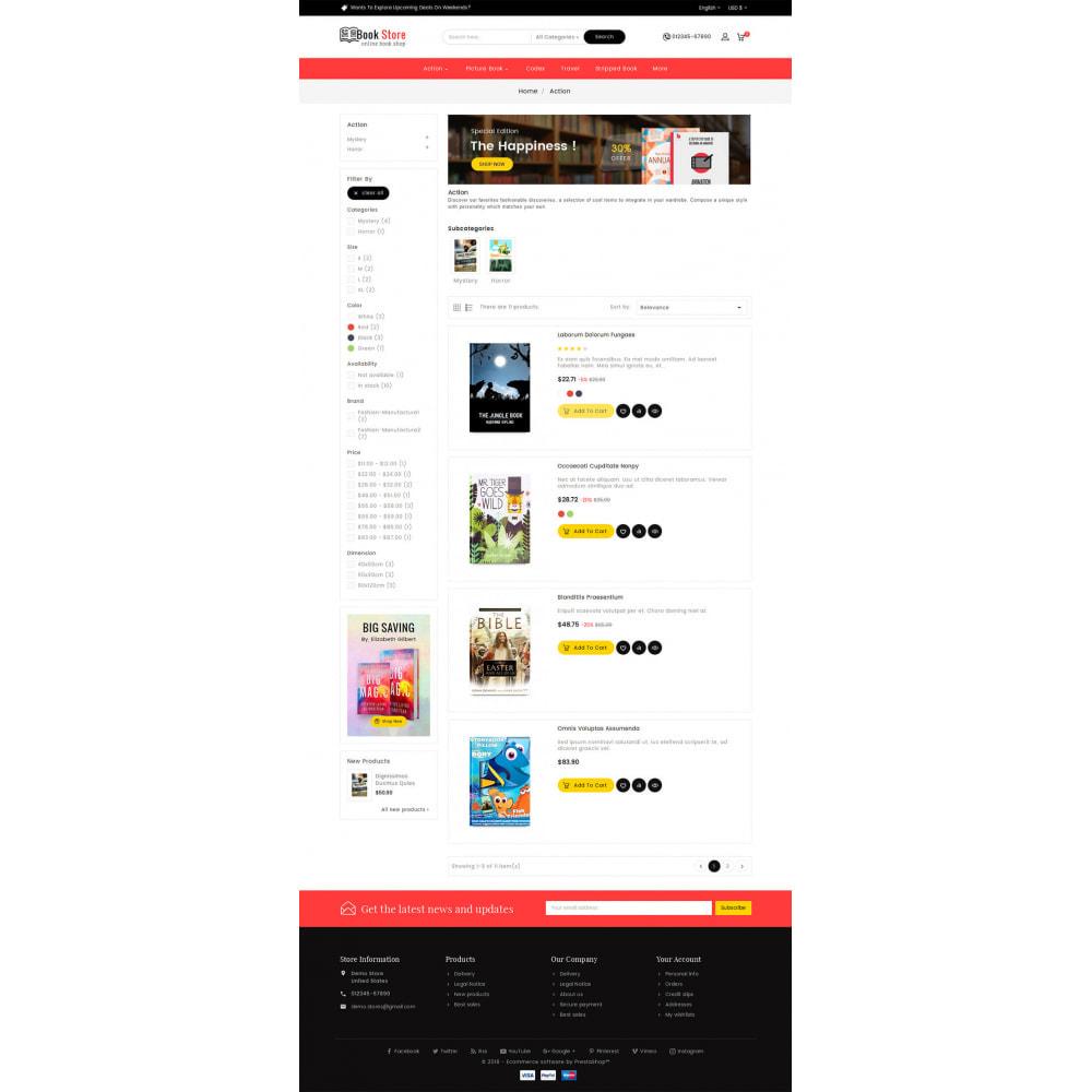 theme - Presentes, Flores & Comemorações - Book Store - 4
