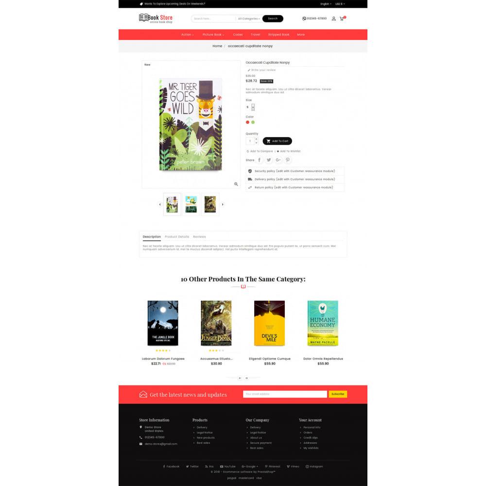 theme - Presentes, Flores & Comemorações - Book Store - 5