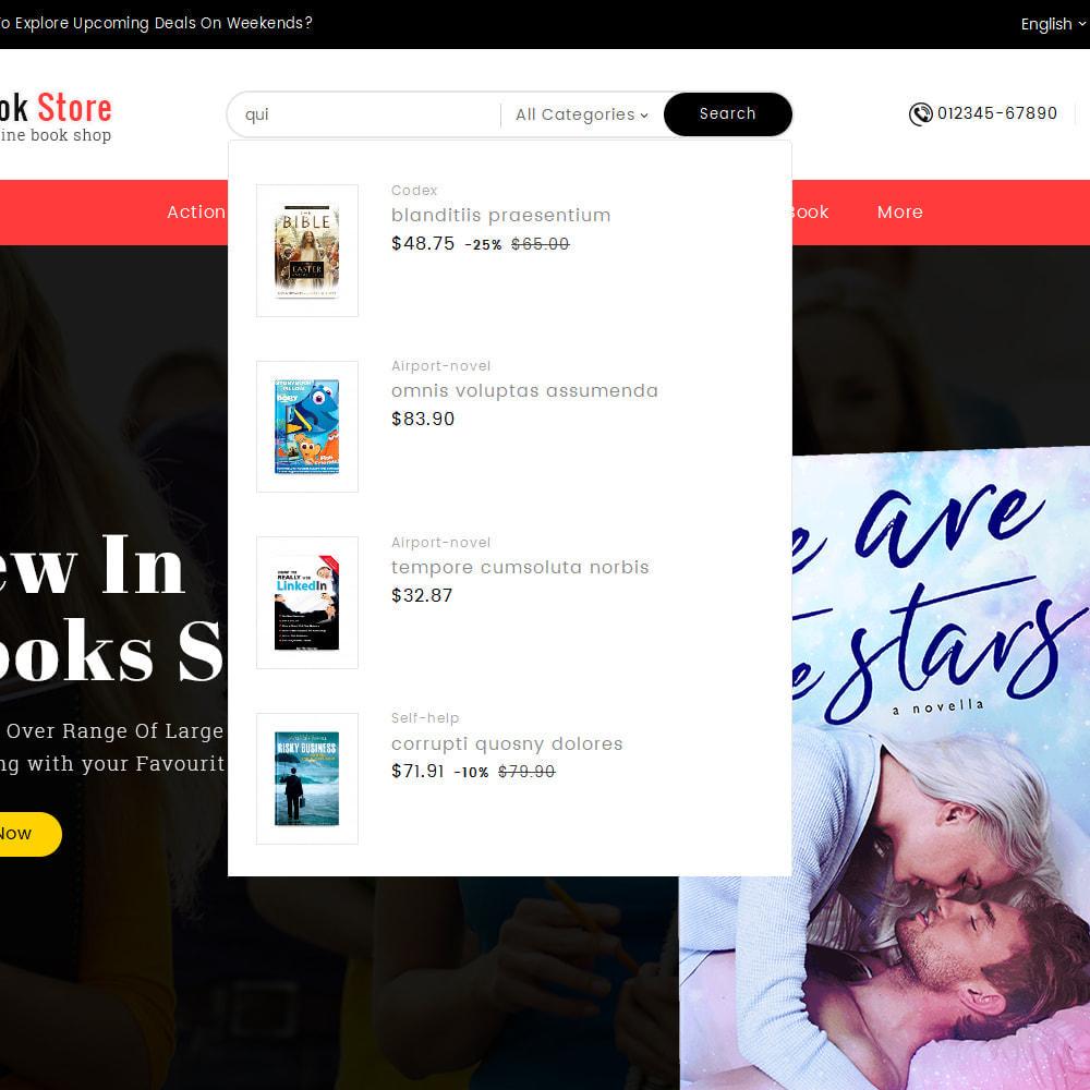 theme - Presentes, Flores & Comemorações - Book Store - 10