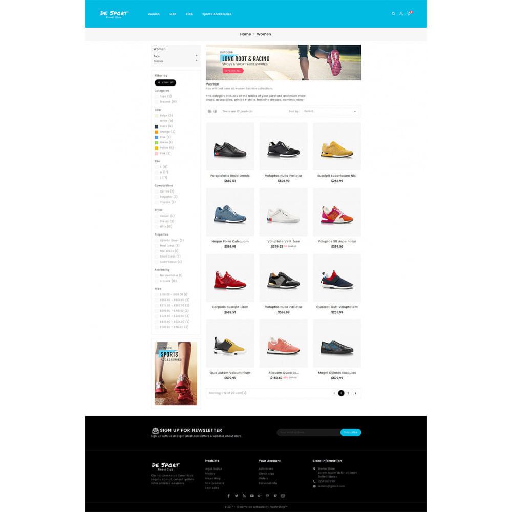 theme - Спорт и Путешествия - De Sport - Shoes Store - 3