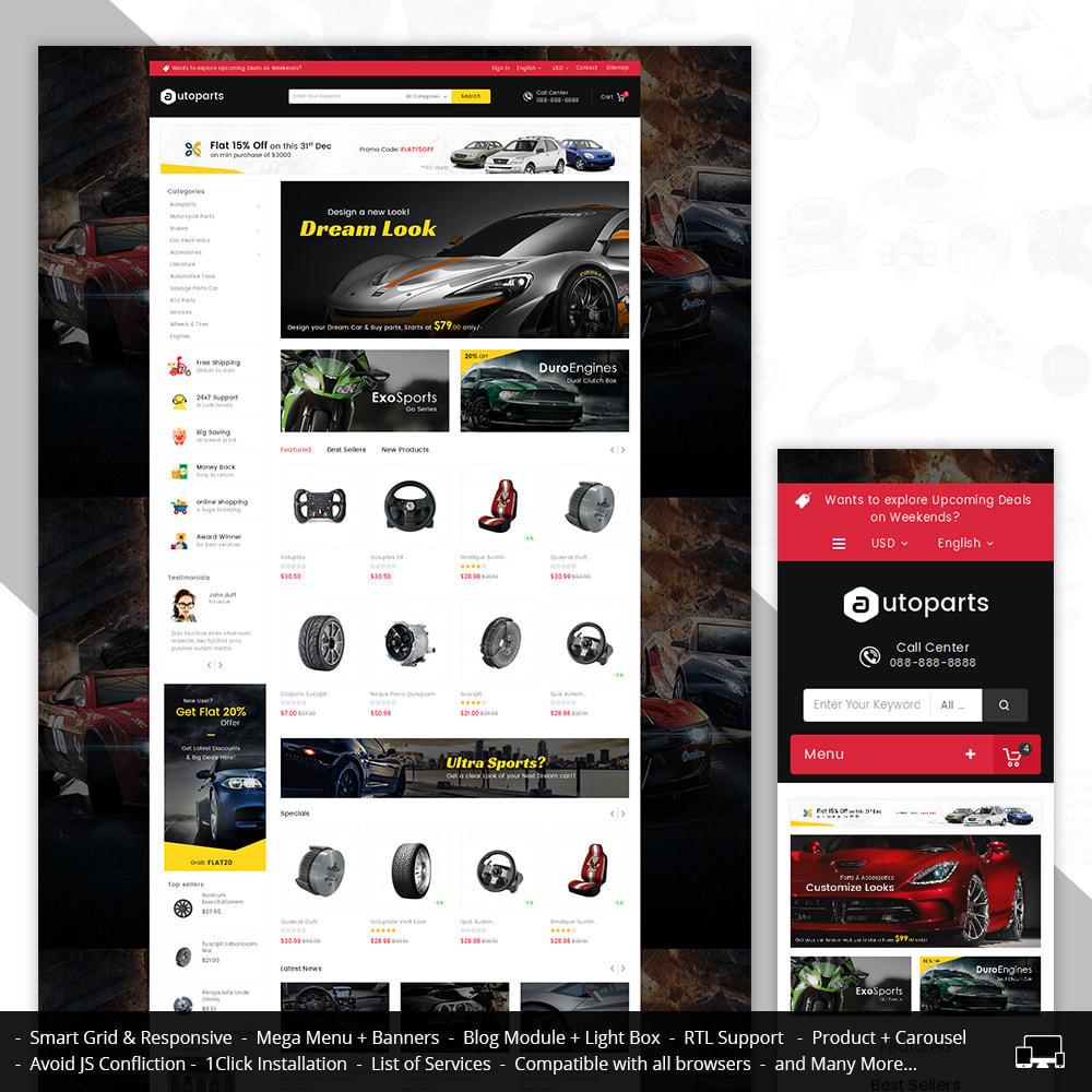 theme - Automotive & Cars - Mega Auto Parts - 1
