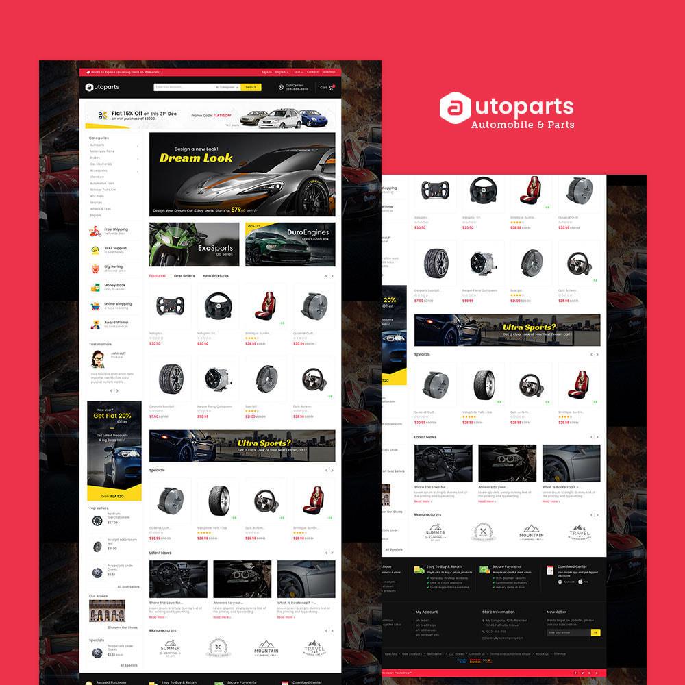 theme - Automotive & Cars - Mega Auto Parts - 2