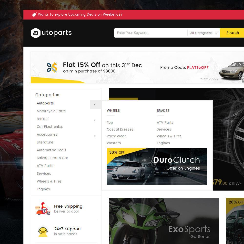 theme - Automotive & Cars - Mega Auto Parts - 8