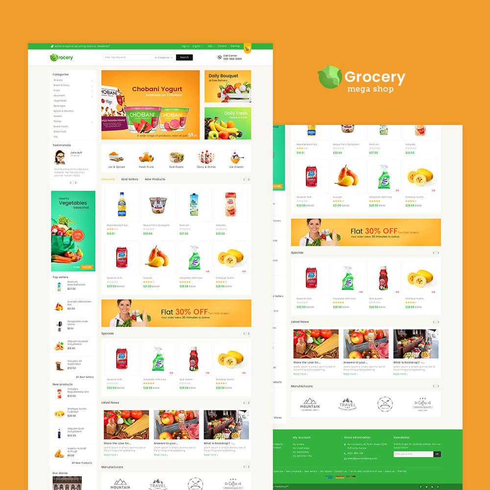 theme - Żywność & Restauracje - Mega Grocery Store - 2