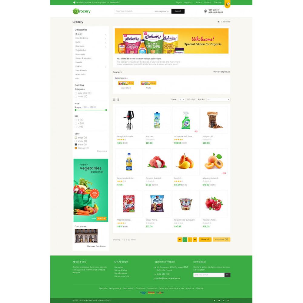 theme - Żywność & Restauracje - Mega Grocery Store - 3