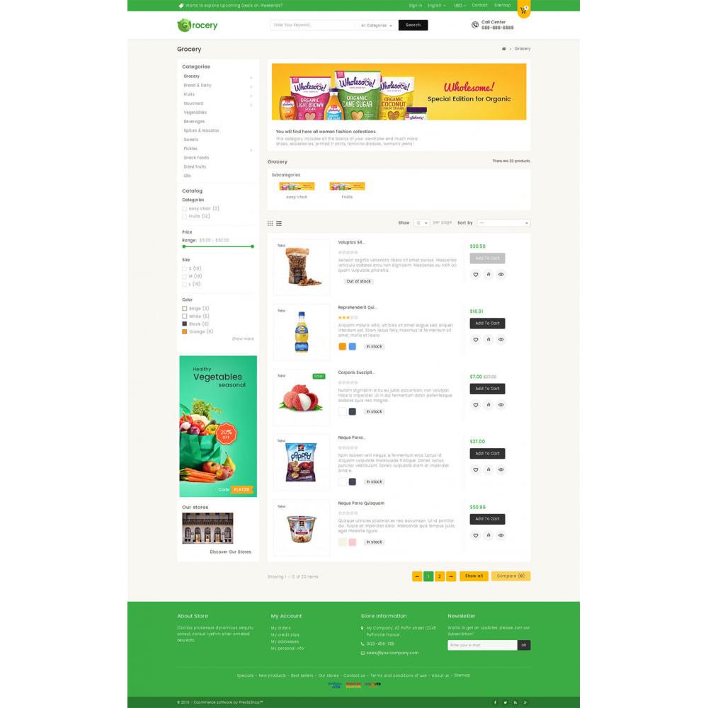 theme - Żywność & Restauracje - Mega Grocery Store - 4