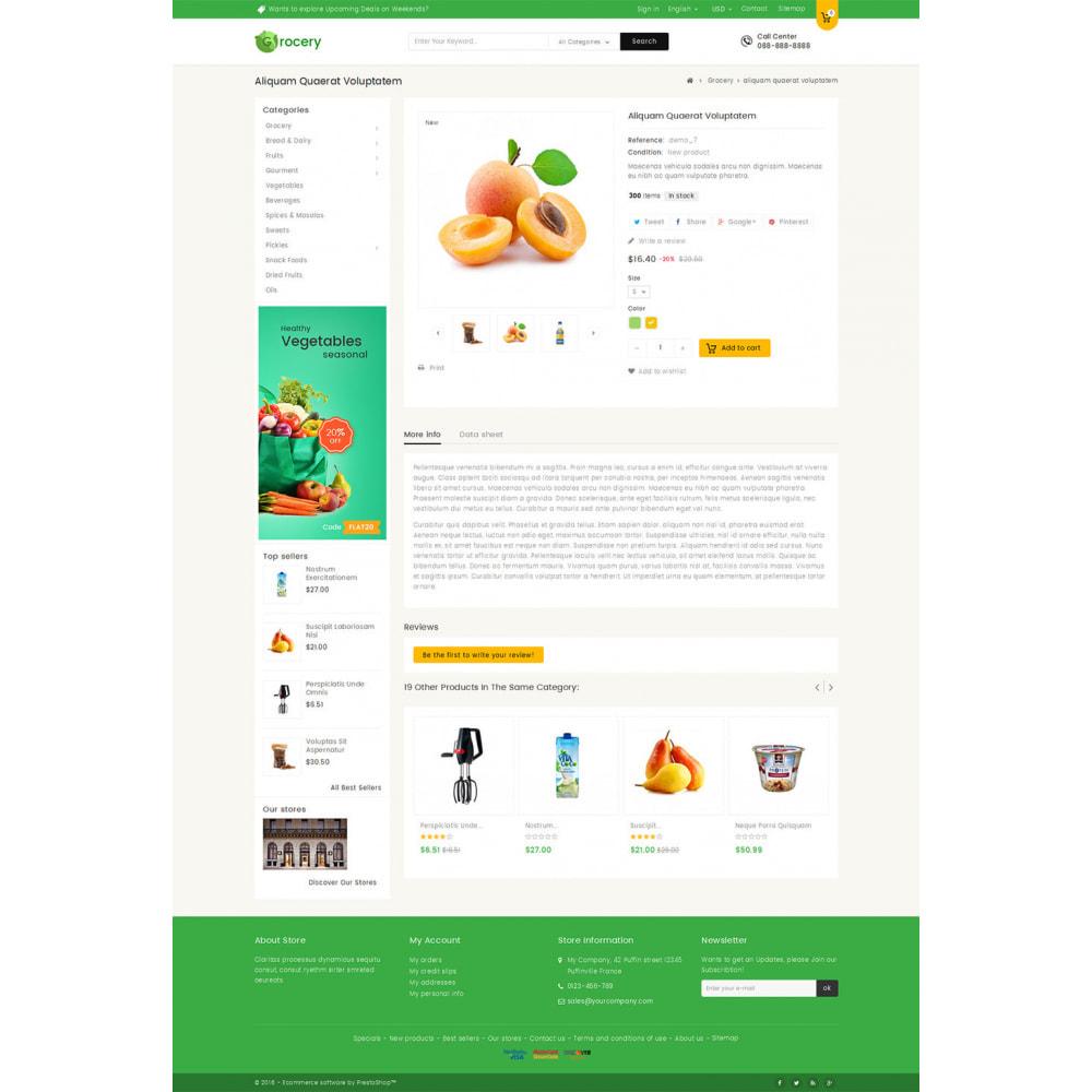 theme - Żywność & Restauracje - Mega Grocery Store - 5