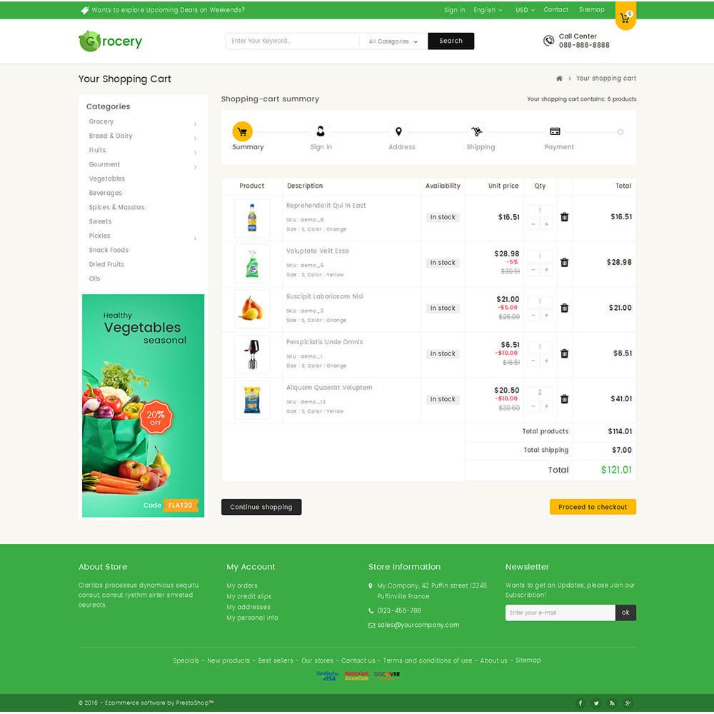 theme - Żywność & Restauracje - Mega Grocery Store - 6