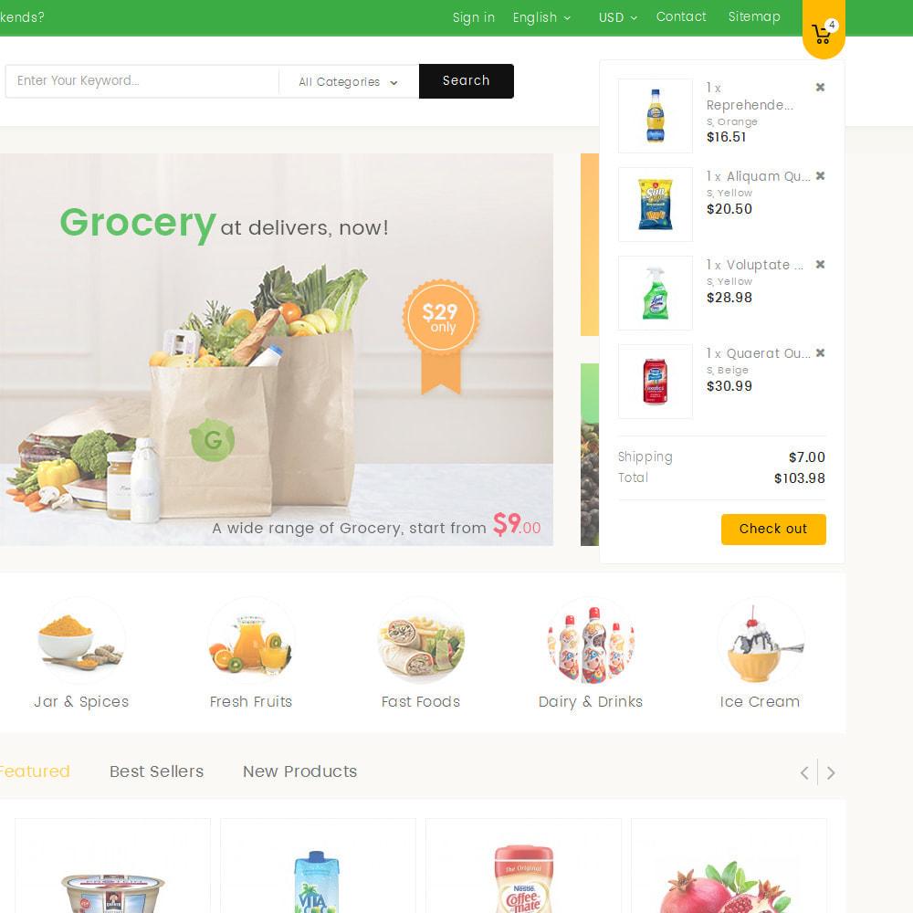 theme - Żywność & Restauracje - Mega Grocery Store - 9