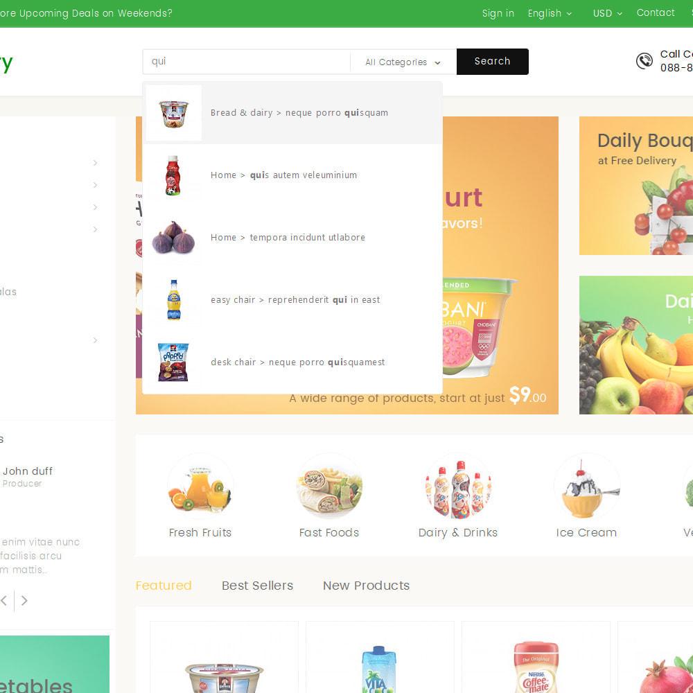 theme - Żywność & Restauracje - Mega Grocery Store - 10