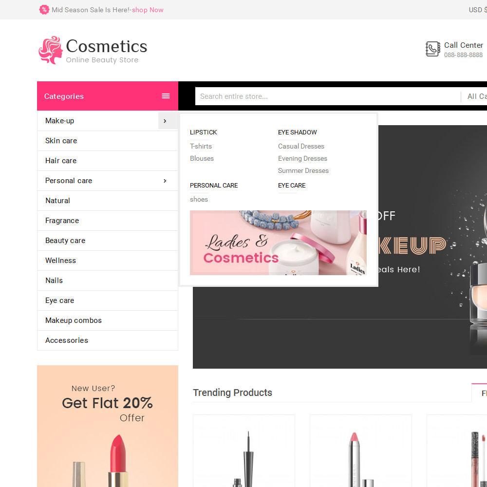theme - Health & Beauty - Cosmetics Mega Store - 9