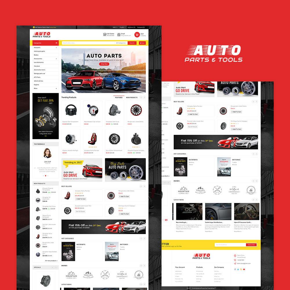 theme - Авто и Мото - Auto Parts Mega Store - 2