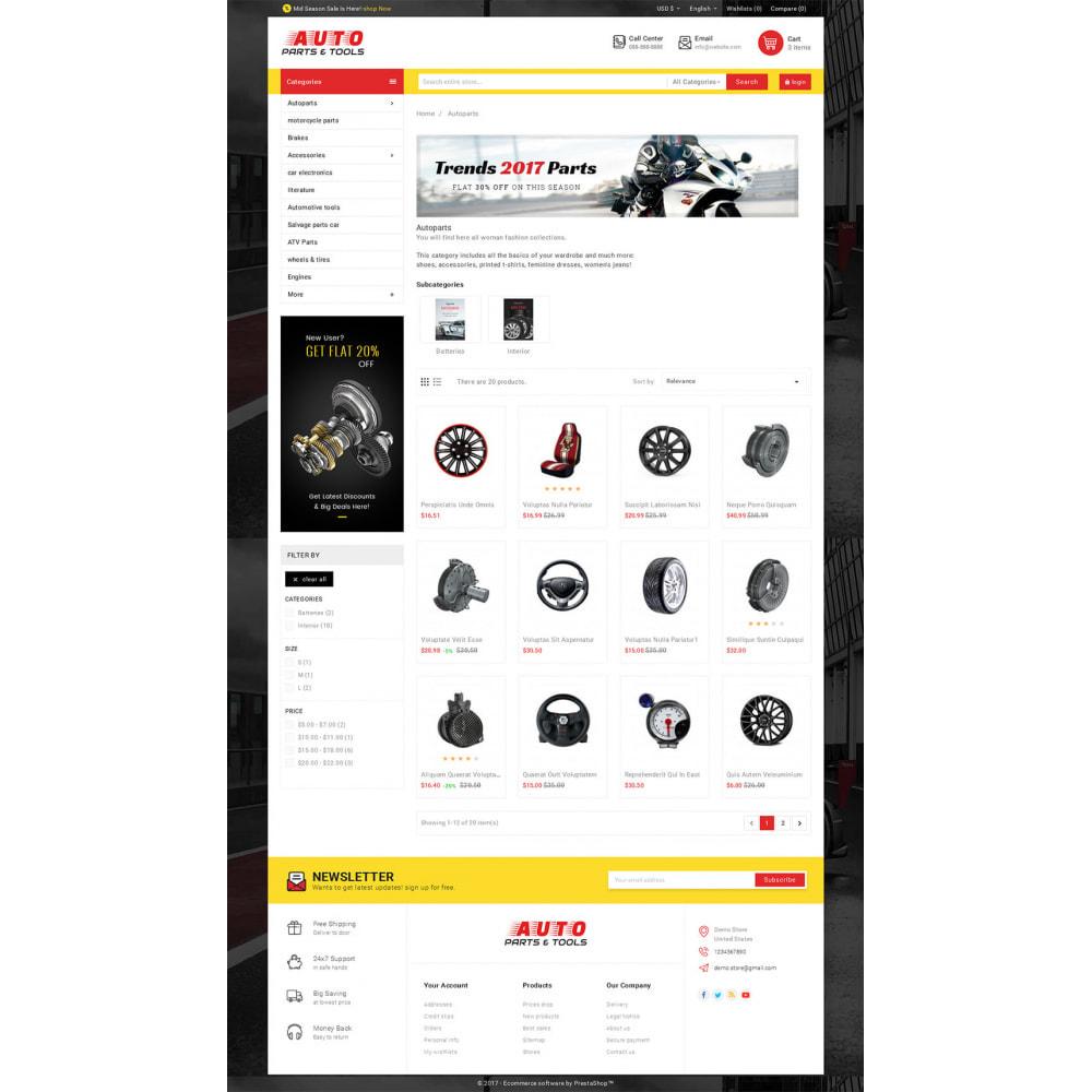 theme - Авто и Мото - Auto Parts Mega Store - 3