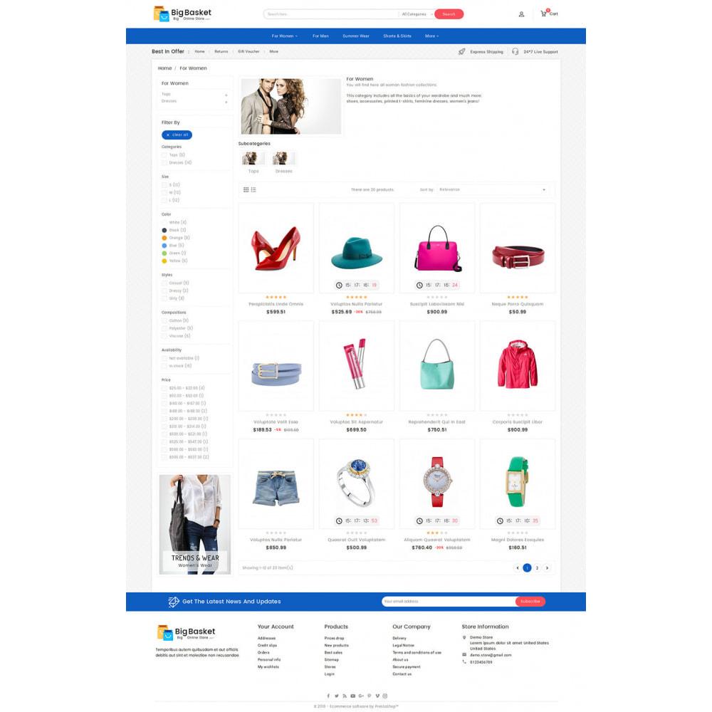 theme - Fashion & Shoes - Big Basket Mega Fashion - 3