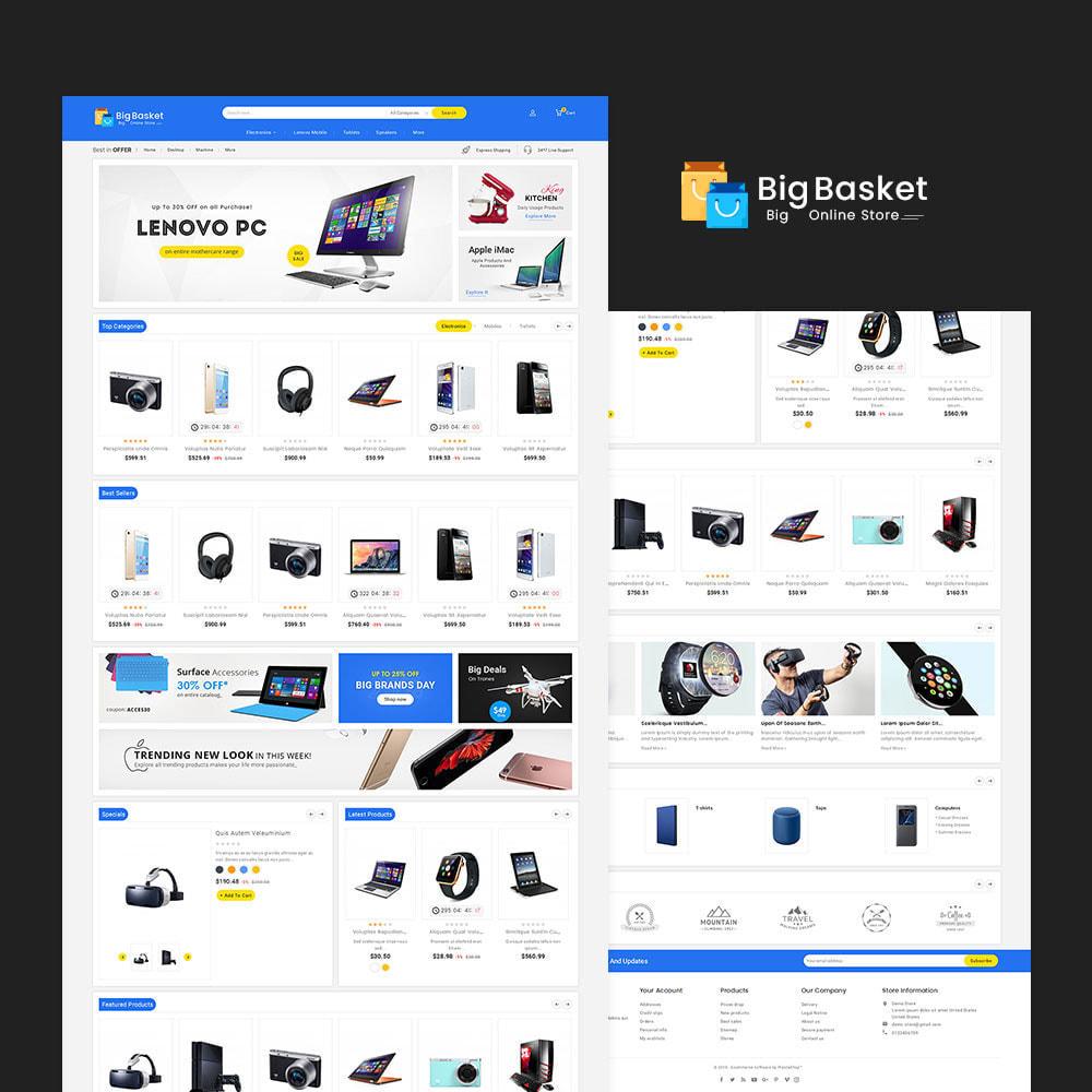 theme - Elettronica & High Tech - Big Basket Mega Electronics - 2