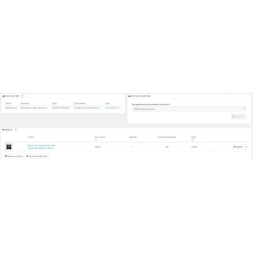module - Соединение с внешней программой (CRM, ERP...) - CRM Customer - 5
