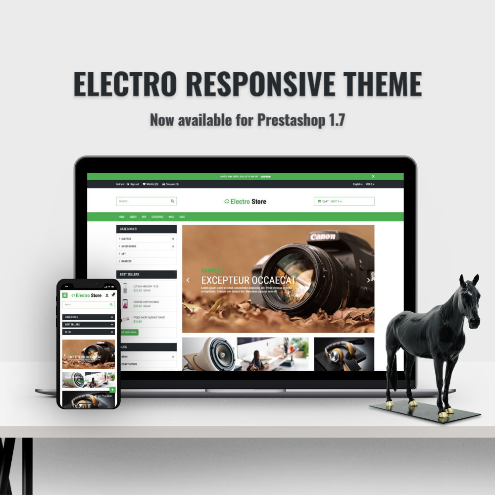 theme - Elektronica & High Tech - Electro & HighTech Store - 1