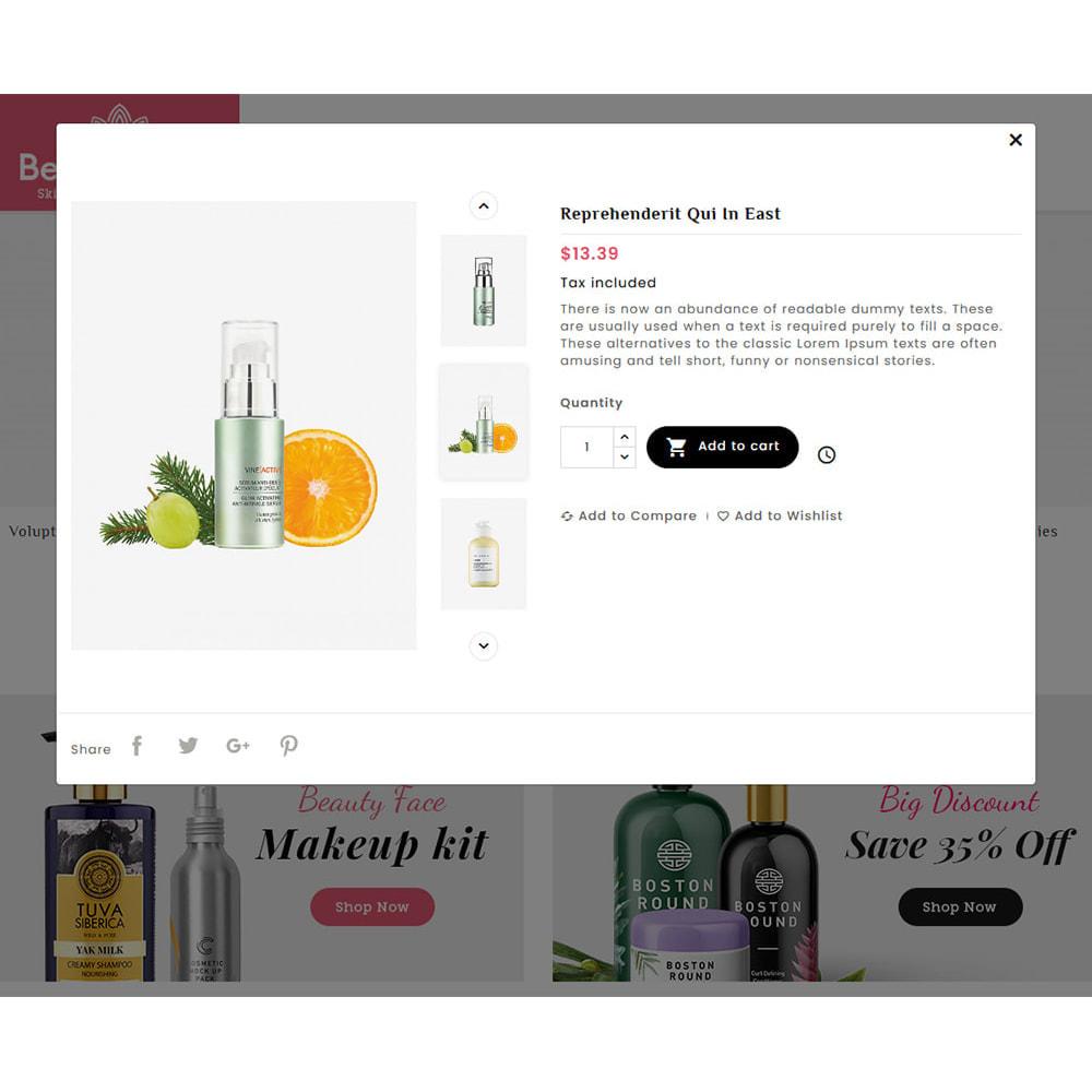theme - Salud y Belleza - Beautique Skin Cosmetics - 8