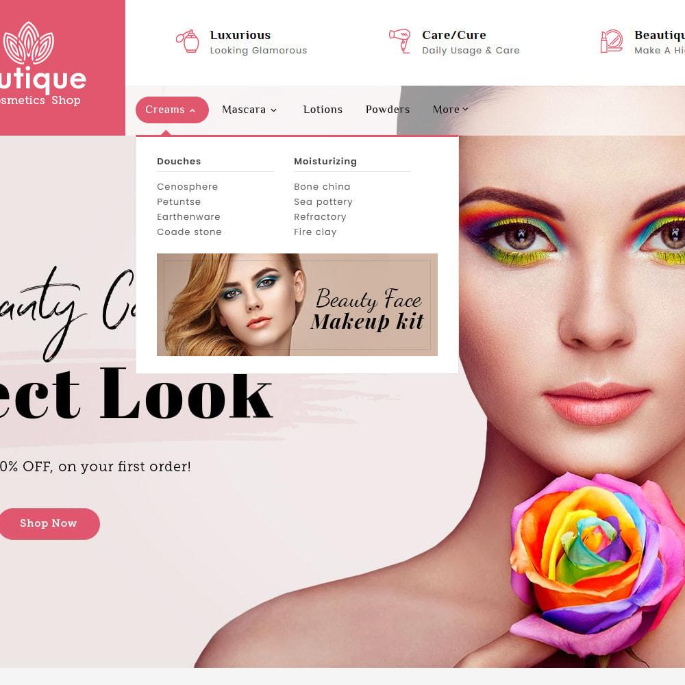 theme - Salud y Belleza - Beautique Skin Cosmetics - 9