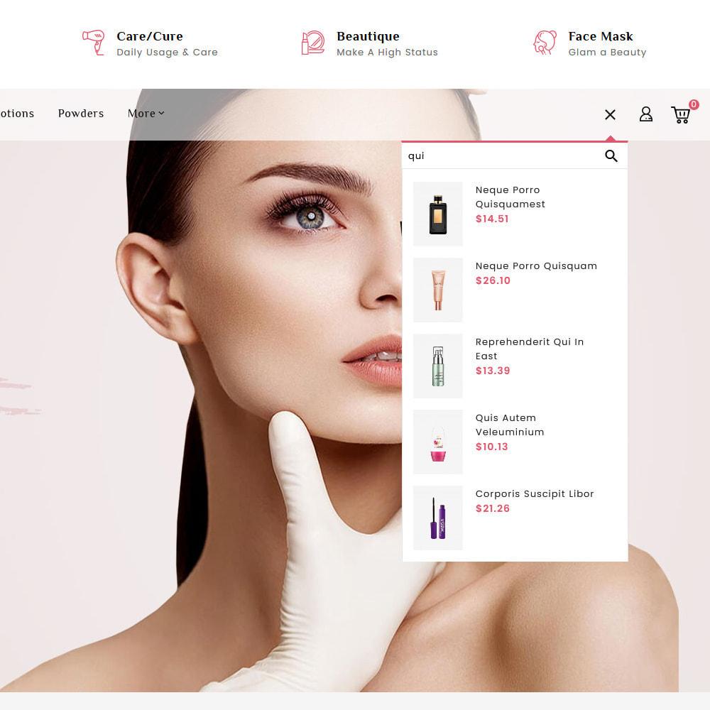 theme - Salud y Belleza - Beautique Skin Cosmetics - 10