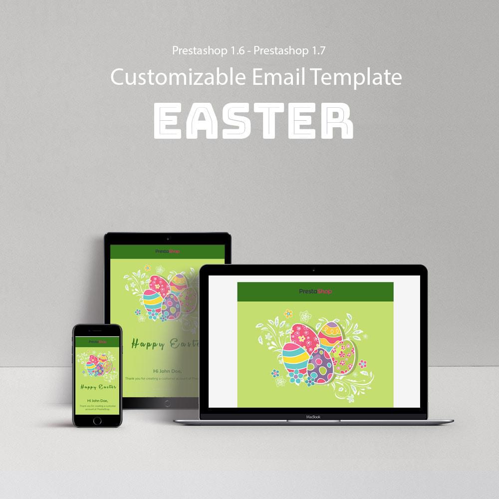 email - Plantillas de correos electrónicos PrestaShop - Easter - Template emails and for emails of module - 1