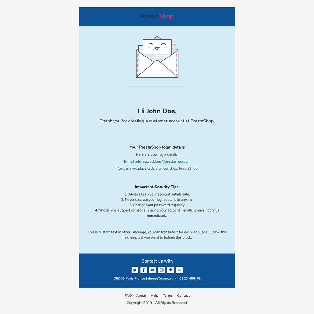 email - Plantillas de correos electrónicos PrestaShop - Konku - Template emails and for emails of module - 3