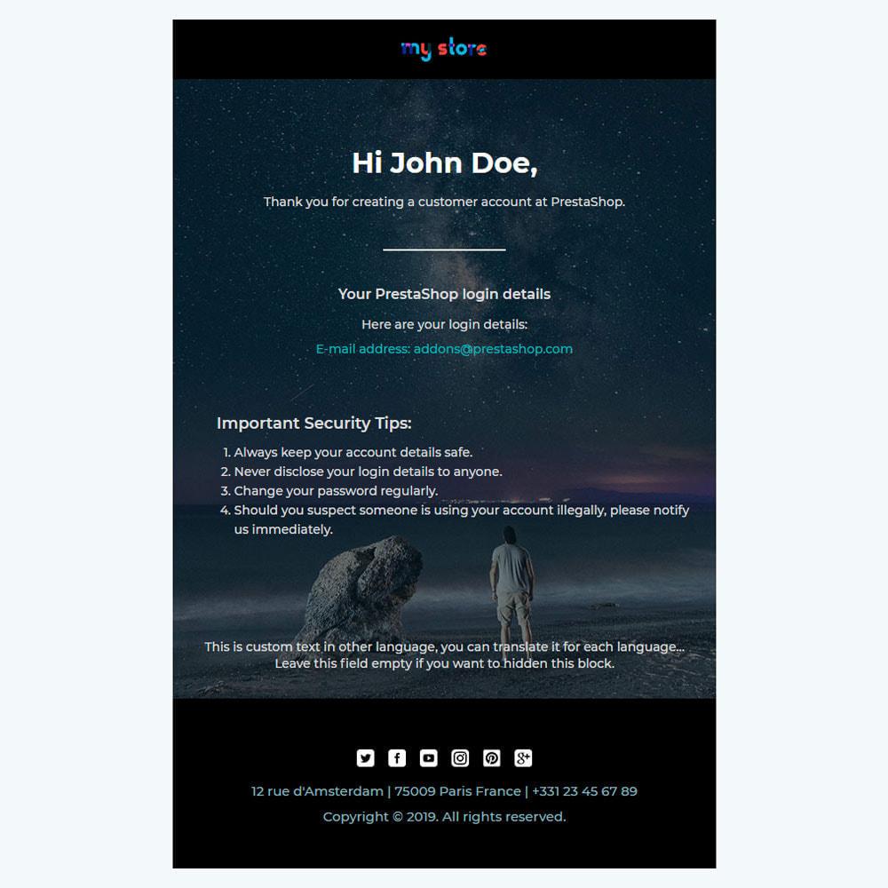 email - E-mailtemplates van PrestaShop - Wiz - Professional responsive Email Template - 3