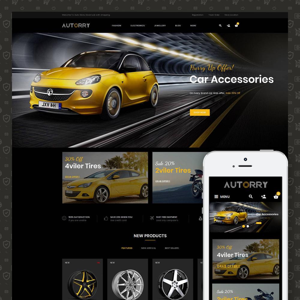 theme - Авто и Мото - Autorry - Auto Parts Store - 1