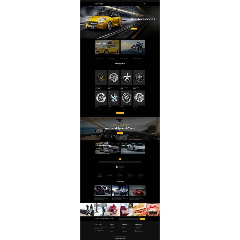 theme - Авто и Мото - Autorry - Auto Parts Store - 2
