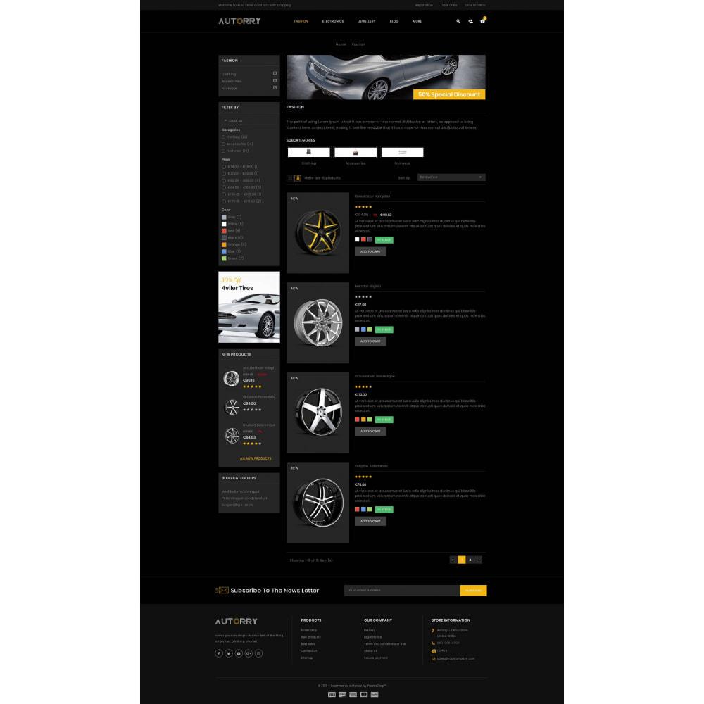 theme - Авто и Мото - Autorry - Auto Parts Store - 4