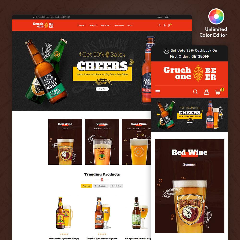theme - Getränke & Tabak - Gruchone Beer & Wine Store - 1
