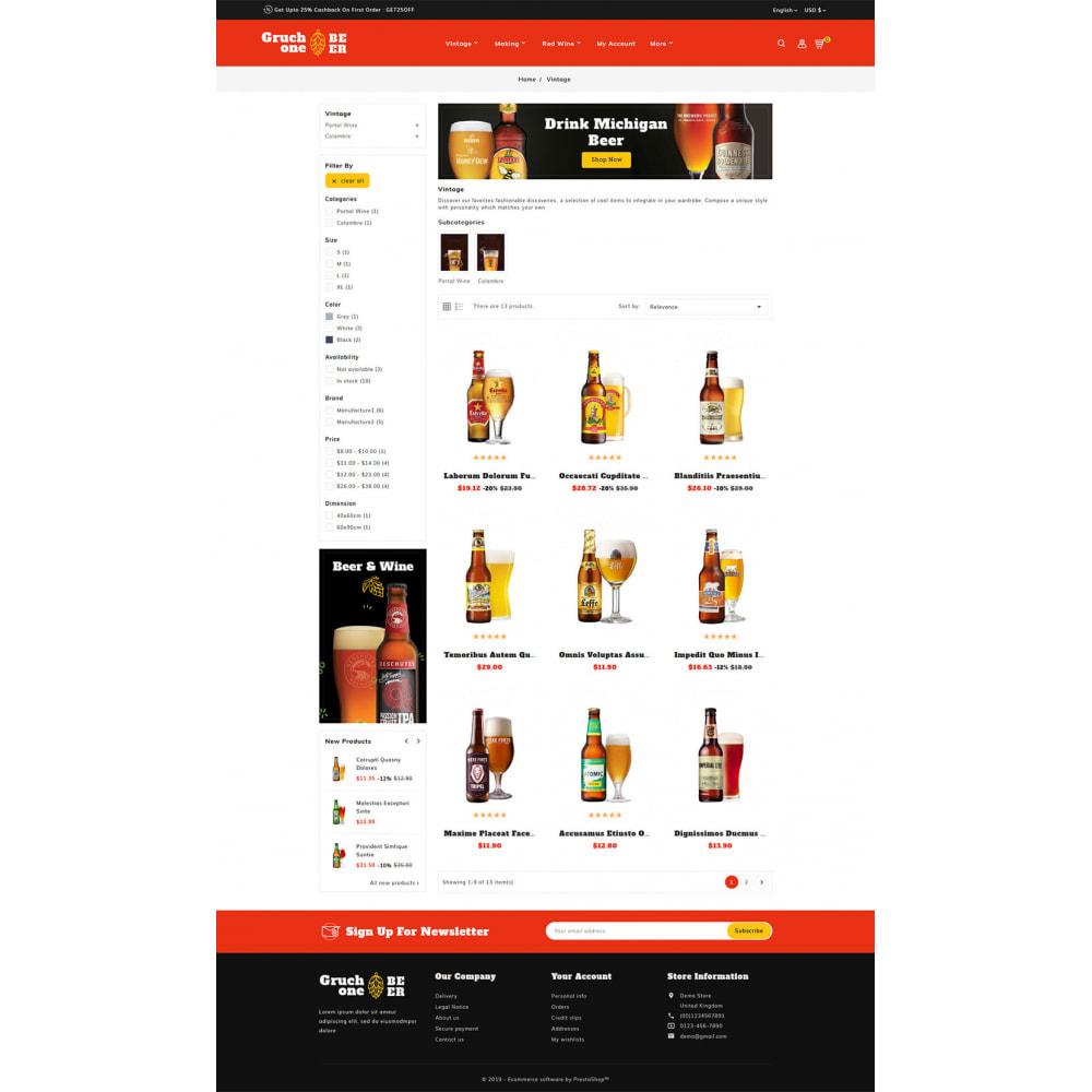 theme - Getränke & Tabak - Gruchone Beer & Wine Store - 3
