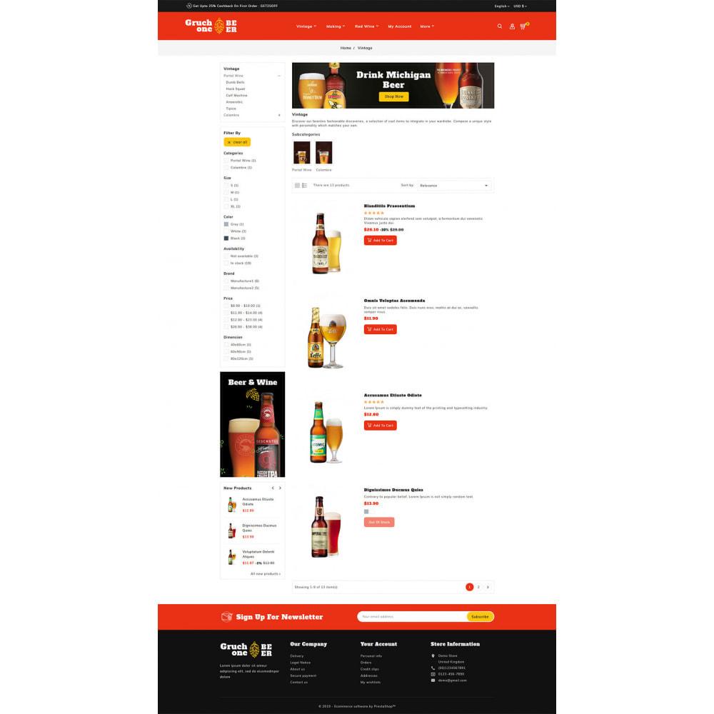 theme - Getränke & Tabak - Gruchone Beer & Wine Store - 4