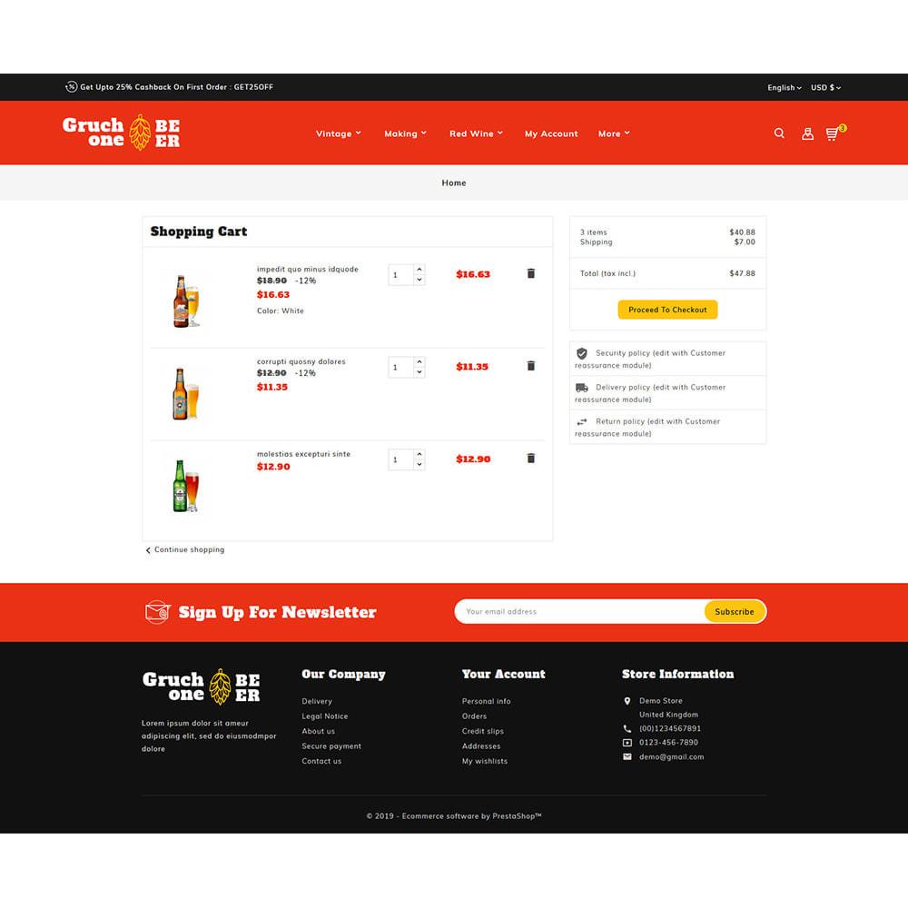 theme - Getränke & Tabak - Gruchone Beer & Wine Store - 6