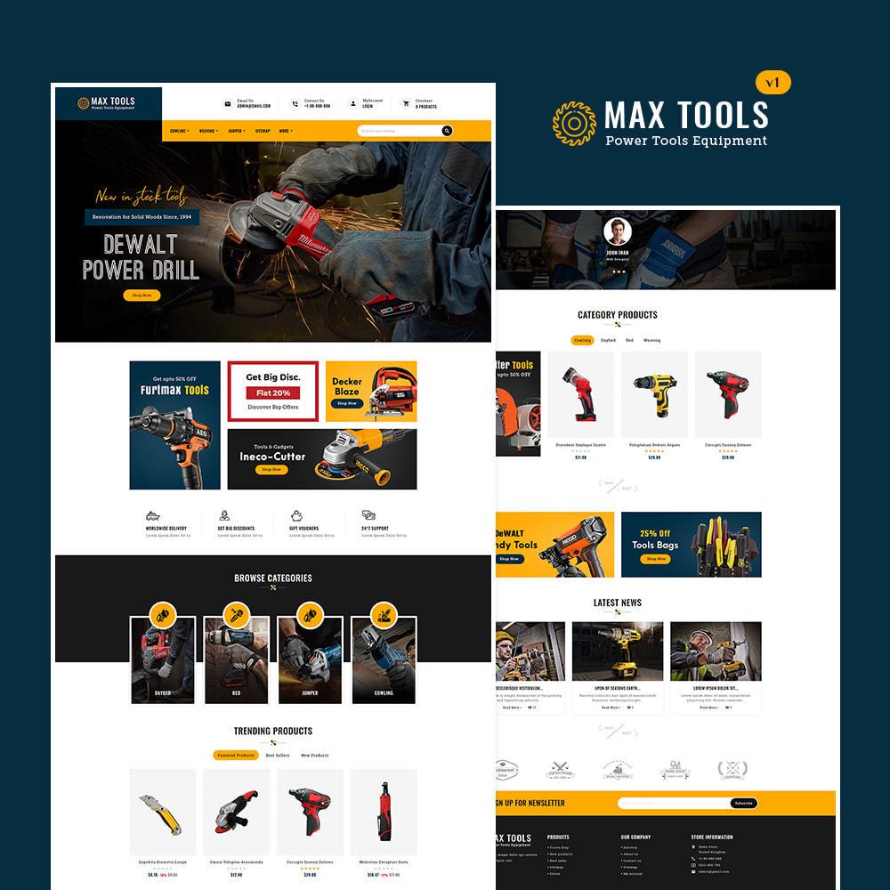 theme - Авто и Мото - Max Tools - Equipment, Parts & Sports - 2