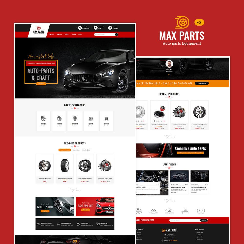 theme - Авто и Мото - Max Tools - Equipment, Parts & Sports - 3