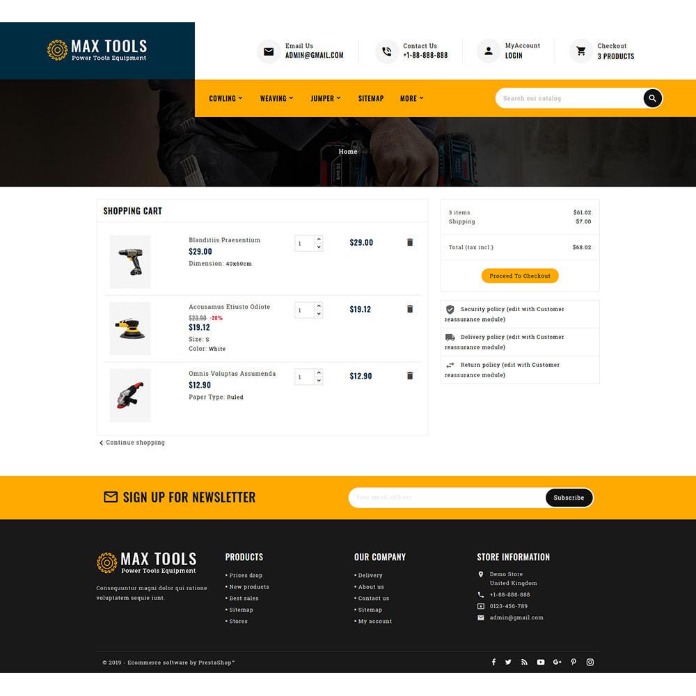 theme - Авто и Мото - Max Tools - Equipment, Parts & Sports - 8
