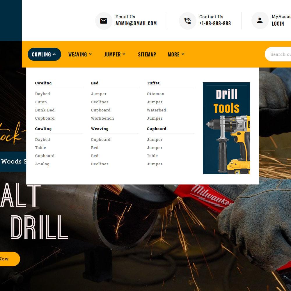 theme - Авто и Мото - Max Tools - Equipment, Parts & Sports - 11