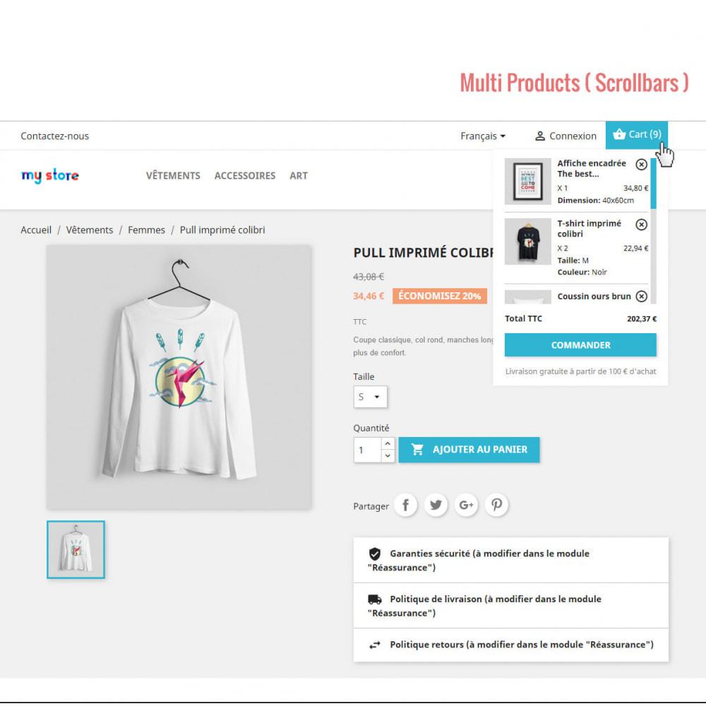 module - Personalização de página - Ajax Shopping Cart ( Mini Cart ) - 2