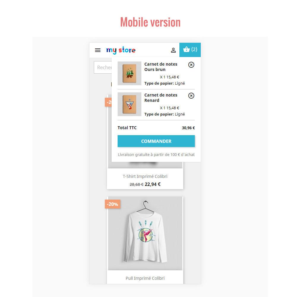 module - Personalização de página - Ajax Shopping Cart ( Mini Cart ) - 3
