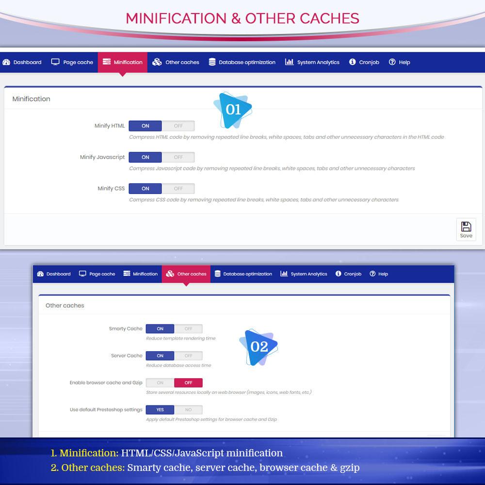 module - Website Performance - Page Cache Pro - Speed & SEO optimization - 7